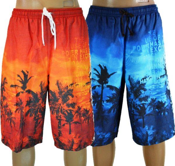 Пляжные шорты бермуды - удлиненные, свободные и удобные