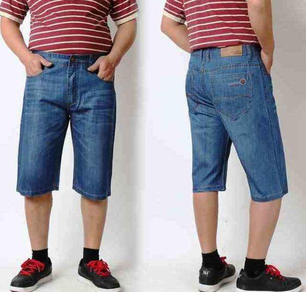 Мужские шорты больших размеров необходимо выбирать в прямом крое без отворотов и объемных карманов, крупных заплат или прорезей