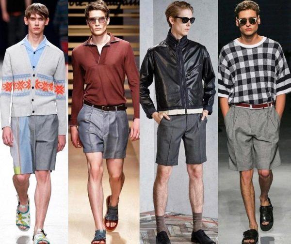 Дизайнеры прочат мужским шортам большое будущее и неустанно напоминают нам, что теперь их можно носить куда угодно — хоть в офис или на деловую встречу, так что добавить модную изюминку, попробовав включить в свой дизайнерский ансамбль шорты в стиле ретро, будет, пожалуй, весьма неплохо и актуально