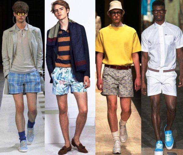 Выбирать короткие мужские шорты надо с учетом повода и назначения