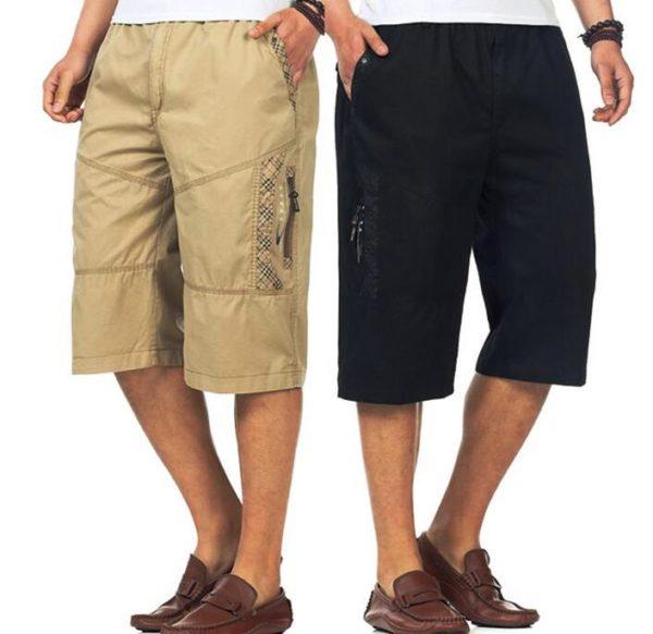 Карманы на мужских шортах выполняют еще и декоративную функцию