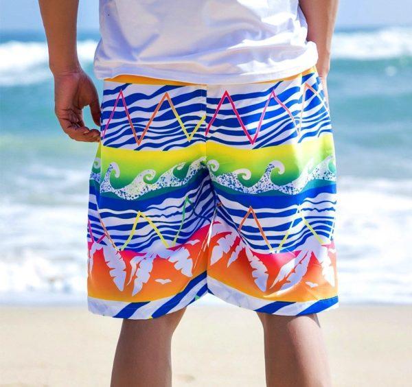 Тайские мужские шорты больше всего подходят для пляжного варианта