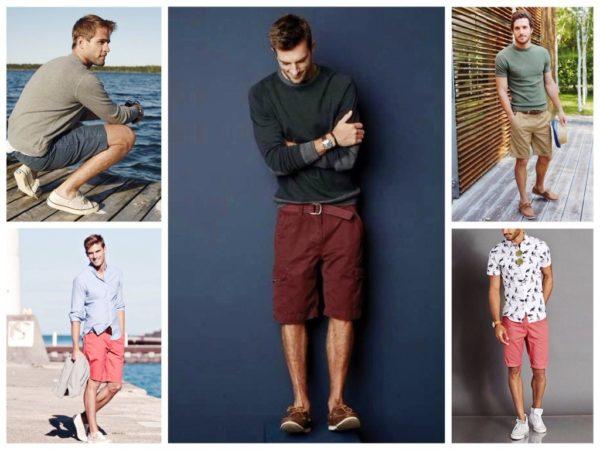 Мужские шорты очень популярны в уличном стиле