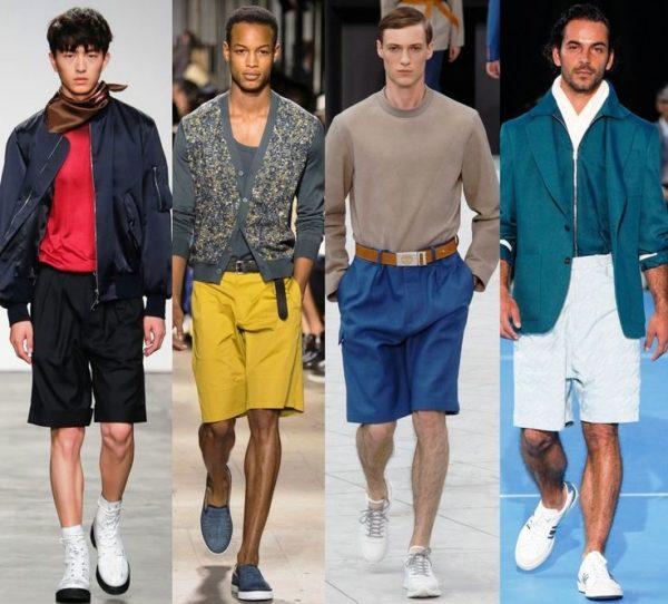 В ярких модных мужских шортах ты не останешься незамеченным