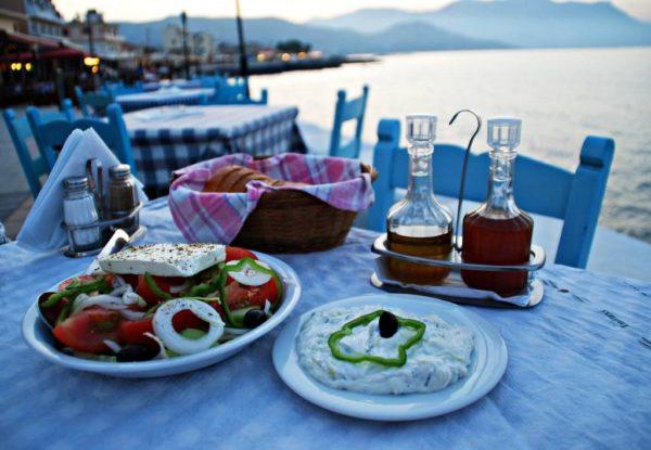 Основа критской кухни - здоровое питание