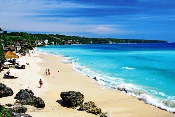 Фото пляжа на острове Бали