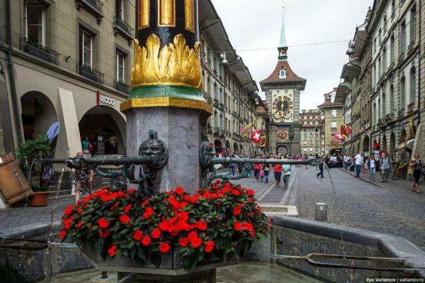 Для жителей Берна фонтаны очень многое значат