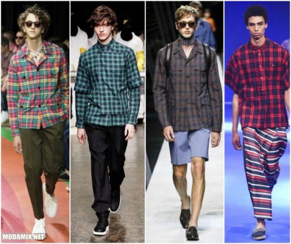 Модные стильные мужские рубашки этого сезона