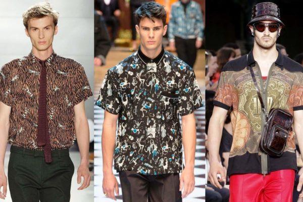 Нашли воплощение в реальности и смелые фантазии дизайнеров на тему модных рубашек