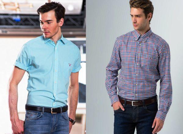 В рубашках марки Gant мужчины выглядят очень стильно