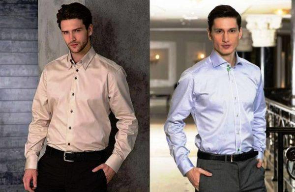 Классические стильные рубашки марки A.P.C.