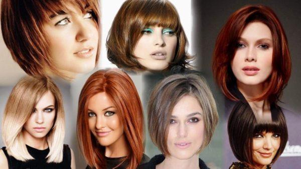 Стрижка на полудлинные волосы без проблем подбирается под любую форму лица, тип волос и смотрится роскошно, украшая образ ее обладательницы