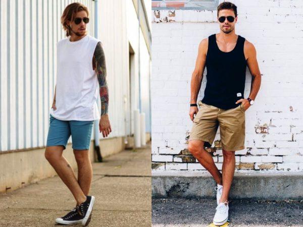 Мужские шорты - универсальная летняя одежда