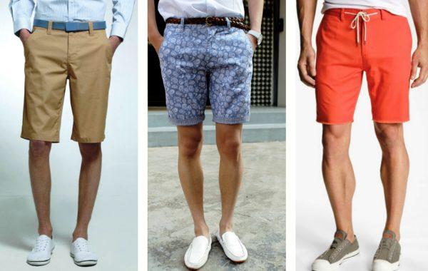Соответствующая обувь к ним  — лоферы, топсайдеры и мокасины