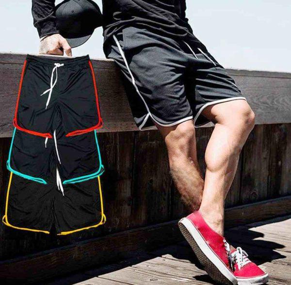 Шорты-беггиз - классические спортивные мужские шорты