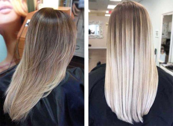 Окрашивание волос способом шатуш