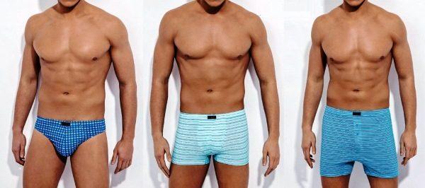 Виды моделей мужских трусов