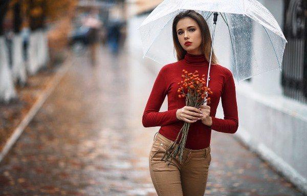 Как выбрать прозрачный зонт