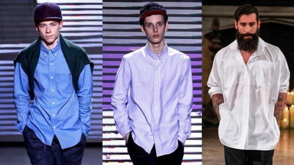 История и стиль мужских рубашек 1