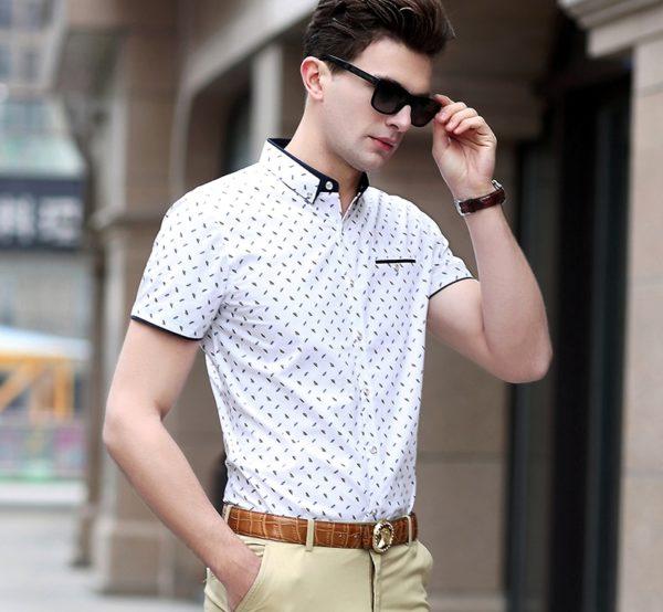 История и стиль мужских рубашек  3