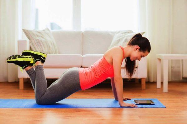 Основной комплекс упражнений самый длительный