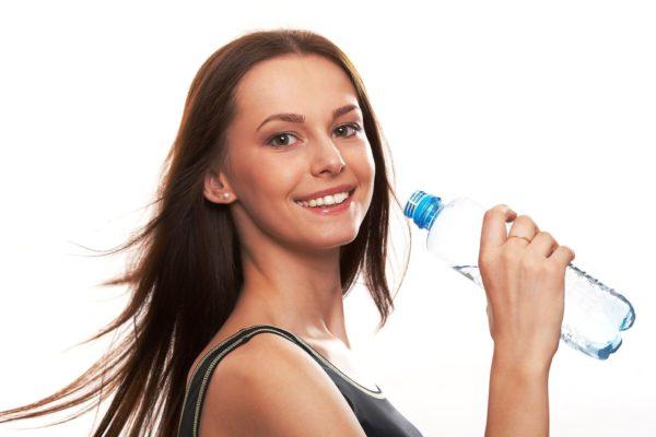Обязательно пейте воду во время тренировк