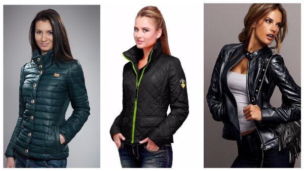 Универсальные модели женских весенних курток