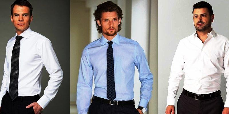 Модные цвета мужских рубашек 3