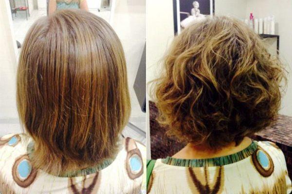 В чем преимущества карвинга на средние и короткие волосы 4