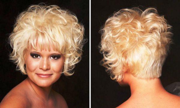Карвинг для коротких волос 6