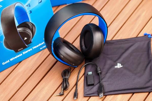 беспроводные стерео наушники для Sony PS4 Platinum