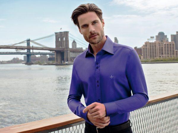 Стильная мужская рубашка 5