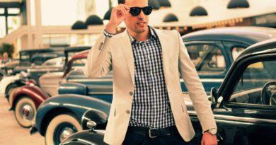 Стильная мужская рубашка 1