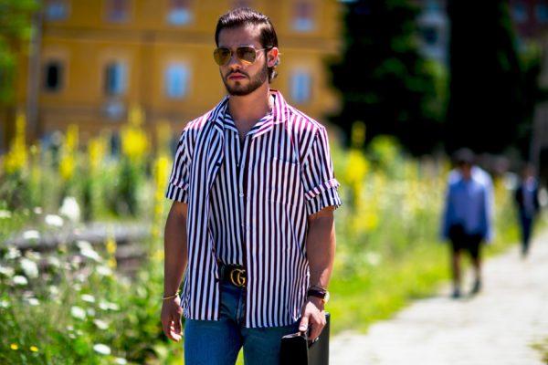 Стильная мужская рубашка 3