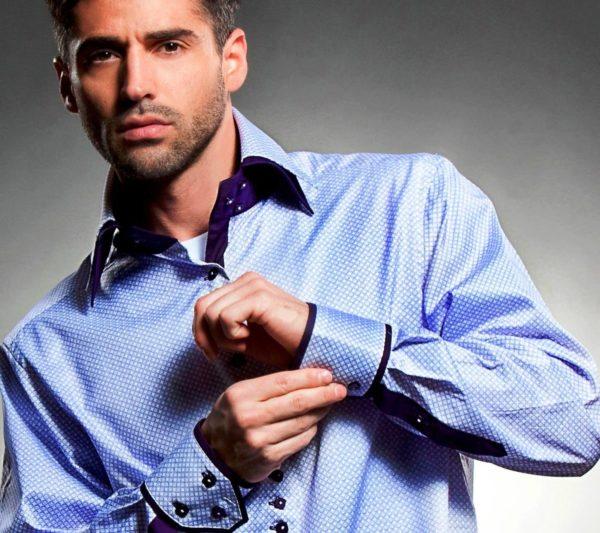 Стильная мужская рубашка 4
