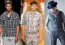 Стильный принт мужской рубашки 4