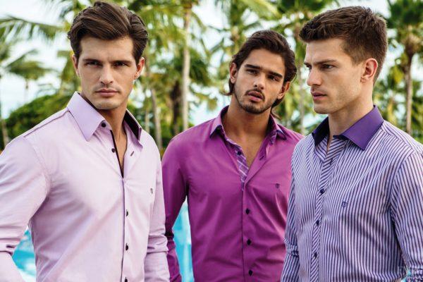 Стильный принт мужской рубашки 3