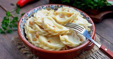 как сделать вкусные вареники с картошкой 3