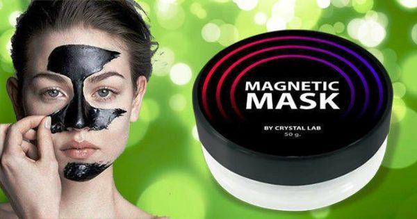 MAGNETIC MASK - магнитная маска для лица для борьбы с прыщами и черными точками