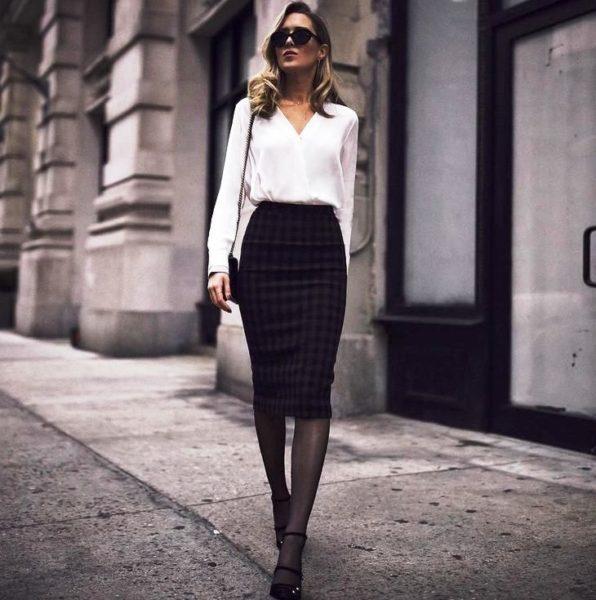 Стильные деловые блузки преобразят любую женщину и сделают её привлекательной