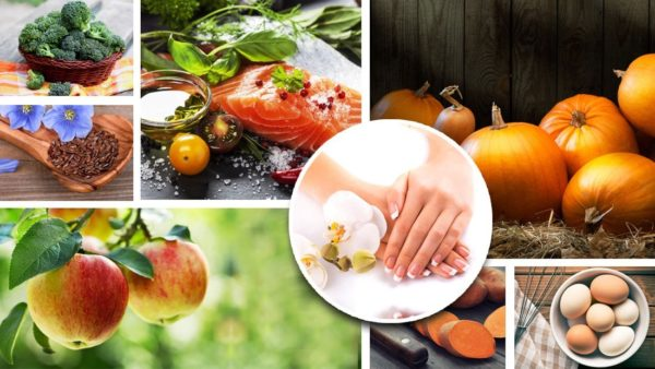 Основа здоровых ногтей и красивых рук - правильное питание