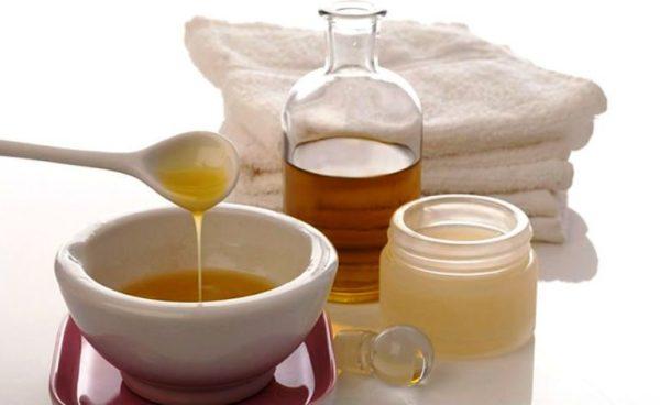 Медово-оливковая маска