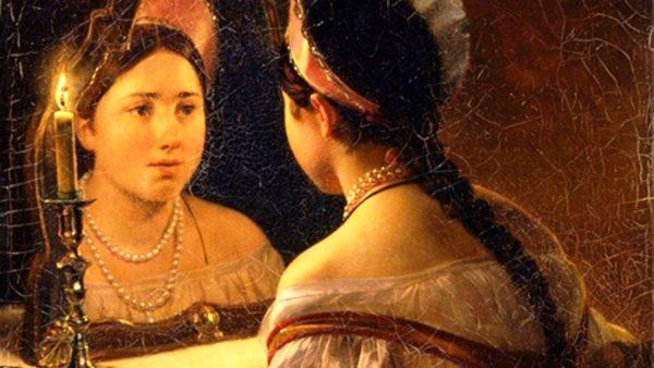 В Древней Руси зеркало было непременным атрибутом каждой девушки