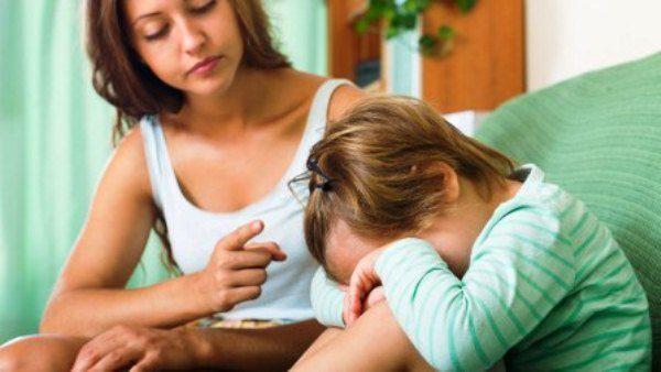 Чувства стыда - эффективное наказание для ребенка