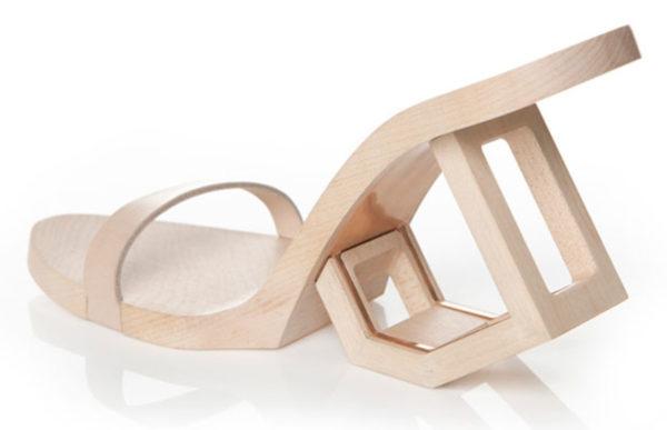 современная деревянная обувь из Тайвани
