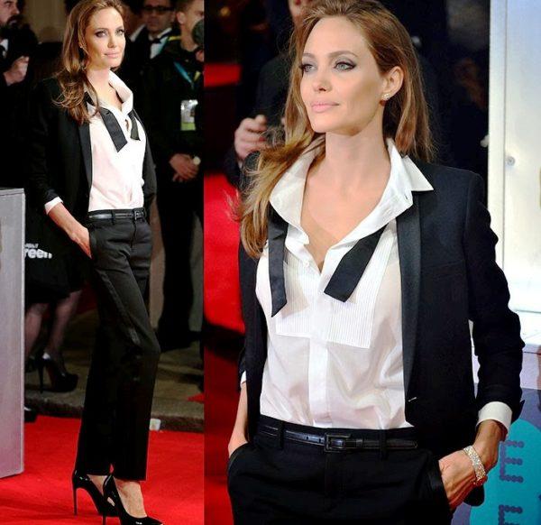 Элегантная и стильная Анджелина Джоли