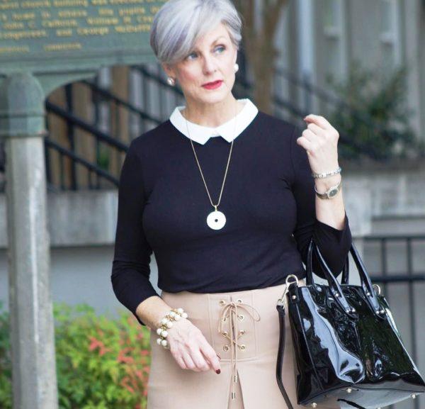 Женщина в любом возрасте может быть элегантной