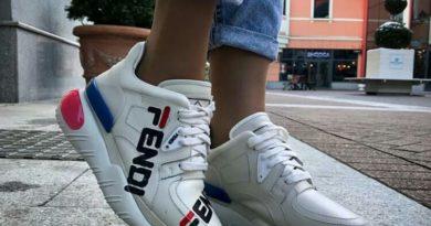 Кроссовки Fendi:Комфорт и красота итальянской обуви
