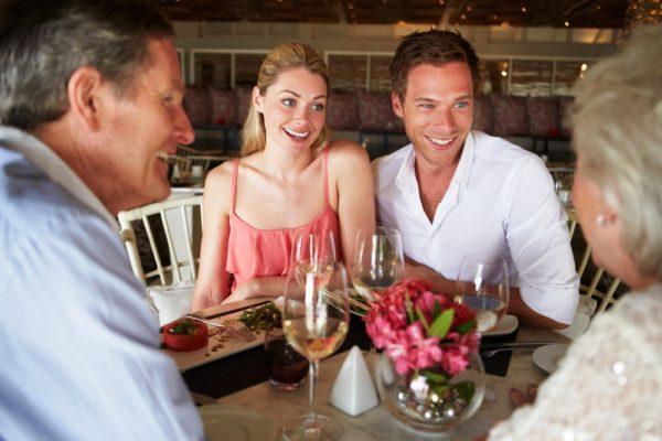Ужин с родителями