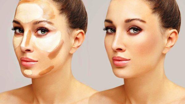 Скульптурирование лица для идеального макияжа